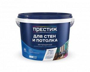Краска ПРЕСТИЖ ВД-АК 212 (W-3) для стен и потолка 1,4 кг (8/уп)