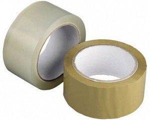 Скотч упаковочный - упаковочный прозрачный 45мм140м (60/уп)