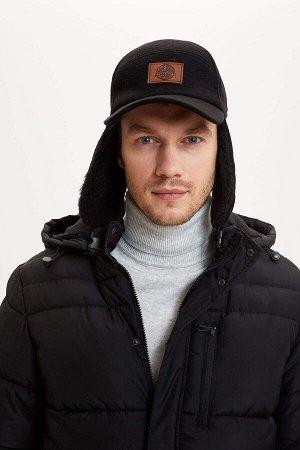 шапка Размеры модели: рост: 1,9 грудь: 100 талия: 84 бедра: 101 Надет размер: STD  Акрил 39%, Хлопок 18%, Вискоз 8%, Полиэстер 35%