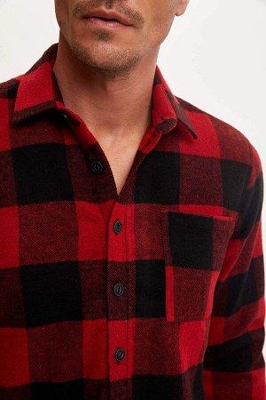 рубашка Размеры модели: рост: 1,87 грудь: 90 талия: 71 Надет размер: XL  Акрил 59%, Хлопок 8%,Poliamid 4%, Вискоз 8%, Полиэстер 21%