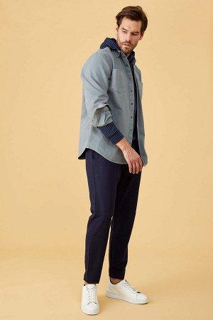 рубашка Размеры модели: рост: 1,86 грудь: 96 талия: 82 бедра: 92 Надет размер: M  Хлопок 100%
