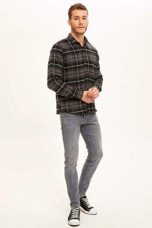 рубашка Размеры модели: рост: 1,88 грудь: 99 талия: 80 бедра: 96 Надет размер: M  Акрил 35%, Хлопок 20%,Di?er Elyaf 15%, Полиэстер 30%