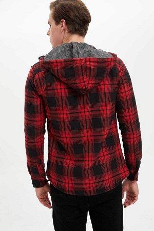 рубашка Размеры модели: рост: 1,89 грудь: 98 талия: 80 бедра: 95 Надет размер: L  Полиэстер 20%, Хлопок 80%