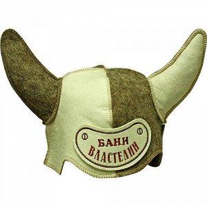 """Шапка для сауны """"Властелин бани"""" 3410"""