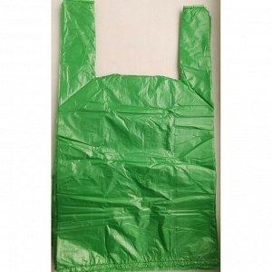 Пакет майка 40+20х70/20  бирюзовая  (20уп х 100шт)