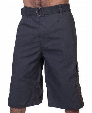 Мужские шорты бермуды от ТМ Akademiks – мощный широкий ремень в комплекте №348