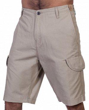 Мужские бежевые шорты Vissla – плотная посадка без ненужных складок №349