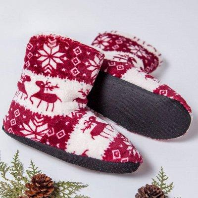 ТМ *РусБубон*. Зима, Демисезон, Новиночки — Женская домашняя обувь — Тапочки