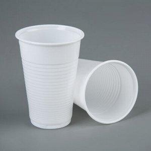 Набор стакан 200 мл. белый 10шт