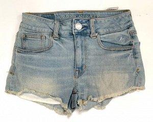 Брендовые женские шорты из джинса АMERICAN EAGLE  №6645
