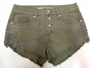 Пляжные женские шорты HIGH RISE SPORT №6620