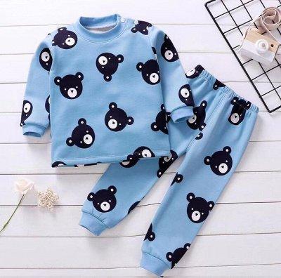 Детская экономка! Долгожданный SaLe! — Утепленные плюшевые пижамки — Пуловеры и джемперы