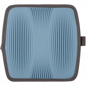 """""""Casa"""" Коврик для сушки посуды 23х22х5см цв.голубой M04-045-B"""