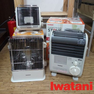Из Японии! Товары для туризма и отдыха. В наличии — Газовые обогреватели фирмы Iwatani (Япония) — Обогреватели и тепловентиляторы