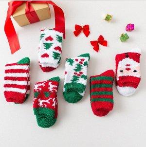 Плюшевые носочки,Рождество