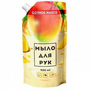 ВЕСТАР Жидкое мыло Сочное манго  дойпак 900 мл