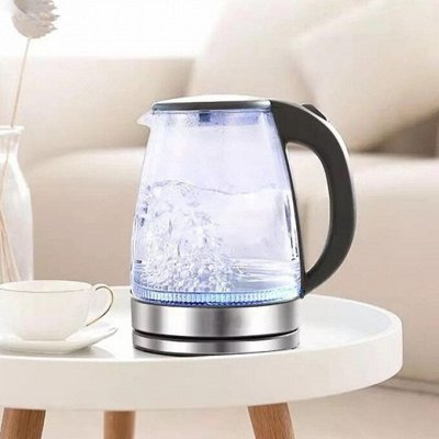 ✔ Дельта- Дискаунтер Товары для дома — Чайники со стеклянным корпусом электрические — Электрические чайники и термопоты