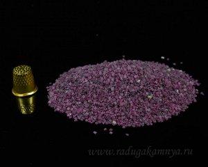 Рубин фракция 1-2мм, упаковка 100гр.