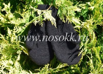 Уютные носочки и варежки из 100% шерсти — Перчатки и варежки мужские — Вязаные перчатки и варежки