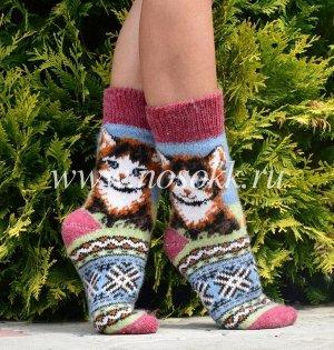 Женские носки (размер 37-39) расцветка в ассортименте