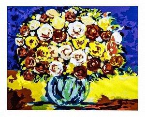 """Картина-рисование по номерам """"Букет цветов"""""""