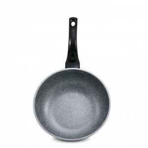 Сковорода Gochu Ecoramic 26 см ВОК с каменным покрытием для всех видов плит