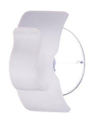 Крючок Крючок на присоске 45*38*63мм БЕЛЫЙ. Крючок ТМ Inomata выполнен из пластика высокого качества, изделие крепится к стене на присоску. Крепление прочно удерживается на стекле, плитке и других гла