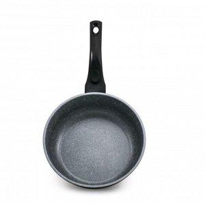 Сковорода Gochu Ecoramic 24 см ВОК с каменным Подходит для всех видов плит, включая индукционные