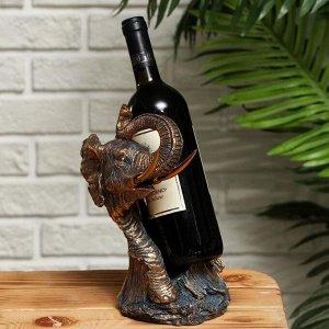 """Подставка для бутылки """"Слон"""" 16,5х15.2х26см"""
