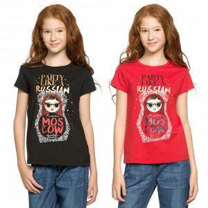 GFT4825 футболка для девочек