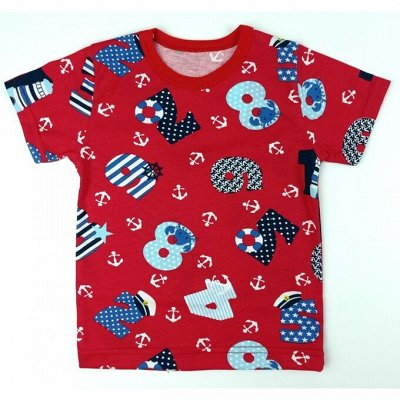 👚Детская одежда от 100 руб.👍 Крутые,яркие новинки. — Детский трикотаж. Футболки, майки — Футболки