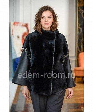 Итальянская дублёнка - куртка из меха мериносаАртикул: M-1552-70-MR-CH