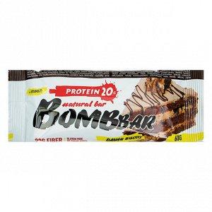Батончик протеиновый датский бисквит Protein danish biscuit Bombbar 60 гр.