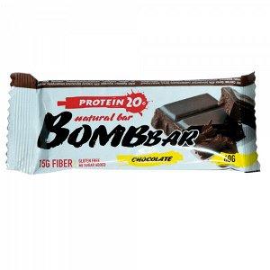 Батончик протеиновый двойной шоколад Protein chocolate Bombbar 60 гр.