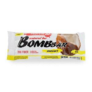 Батончик протеиновый кокос Protein coconut Bombbar 60 гр.