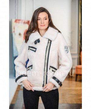 Куртка из шерсти.  Авиатор Артикул: CR-555-60-BL
