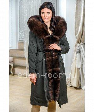 Парка - пальто с капюшоном кобраАртикул: N-1927-100-H-P
