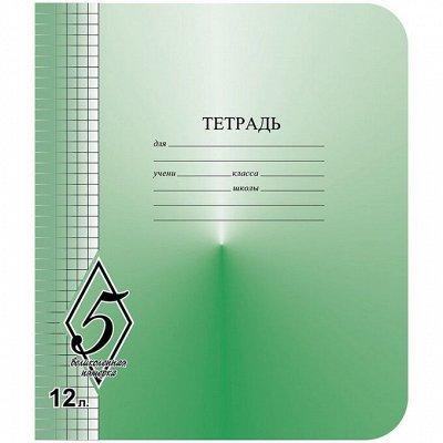 Бюджетная канцелярия для всех  ϟ Супер быстрая раздача ϟ — Тетради 12-24 листов — Школьные принадлежности