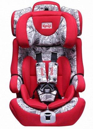 Детское автомобильное удерживающее устройство GE-E09ll (1/2) красное