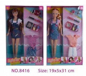 Кукла в наборе 8416 (1/24)