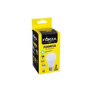 """""""FORZA"""" Лампа светодиодная A60 14W E27 1250LM 6500К холодный свет 925-059"""