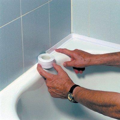 Инструменты для ремонта, построй дом мечты — Лента-бордюр для раковин и ванн — Сантехника и плитка