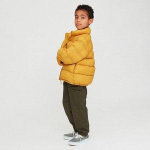 Детский пуховик, желтый