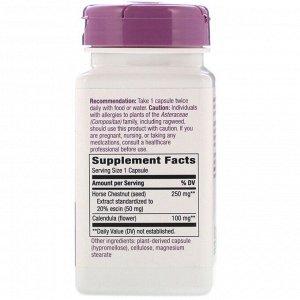 Nature&#x27 - s Way, Конский каштан, 250 мг, 90 веганских капсул