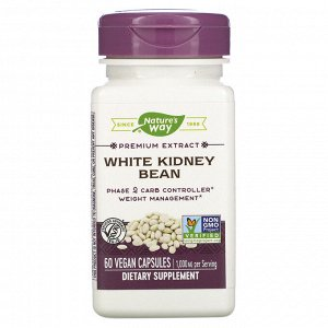 Nature&#x27 - s Way, White Kidney Bean, 60 Vegan Capsules
