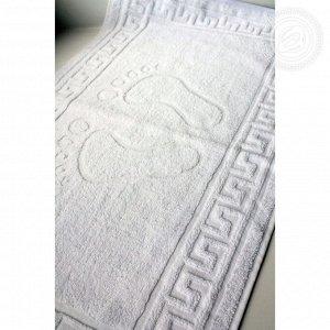 Полотенце «Ножки» Белый - махровое 50x70см - 10шт