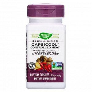 Nature&#x27 - s Way, CapsiCool Controlled Heat, 100 Vegan Capsules