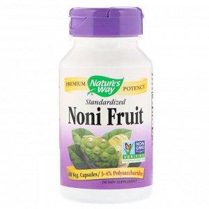 Nature&#x27 - s Way, Noni Fruit, 60 капсул в растительной оболочке