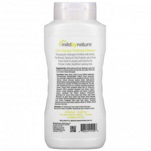 Mild By Nature, Madre Labs, шампунь с комплексом витаминов В и биотином для густоты волос, без сульфатов, цитрусовые, 473 мл (16 жидк. унций)