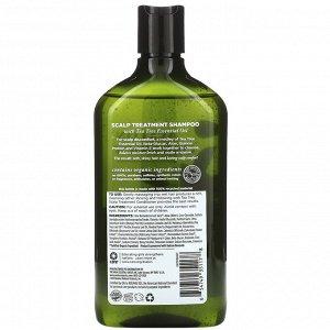 Avalon Organics, Шампунь для кожи головы, чайное дерево, 325 мл (11 жидк. унций)